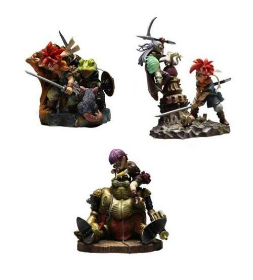Chrono Trigger Formation Arts Mini-Statuen Box Set 9 cm (4) - Figures