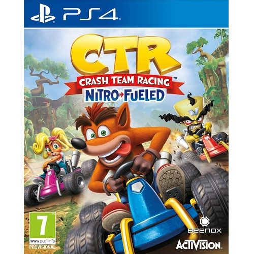 Crash Team Racing Nitro Fueled PS4 Game