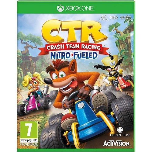 Crash Team Racing Nitro Fueled Xbox One Game - Gamereload