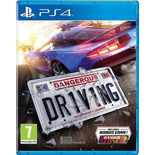 Dangerous Driving PS4 Game - Gamereload.co.uk