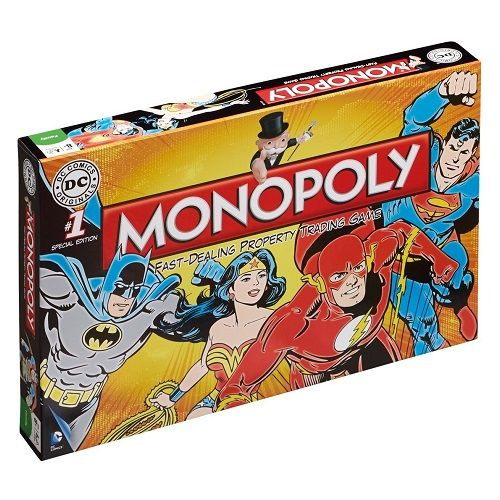 DC Comics Retro Edition Monopoly