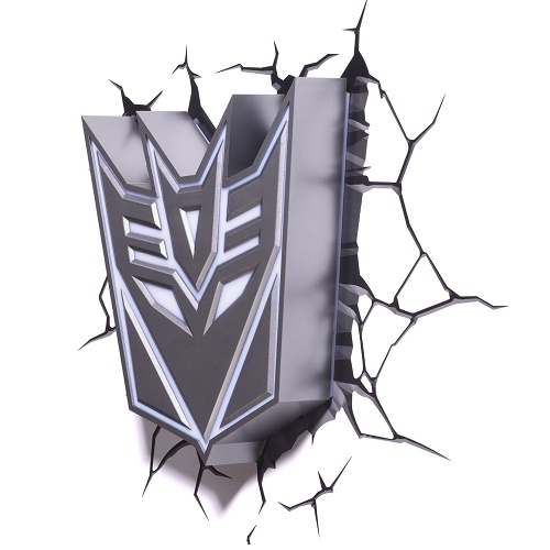 Decepticon Shield 3D Deco Light