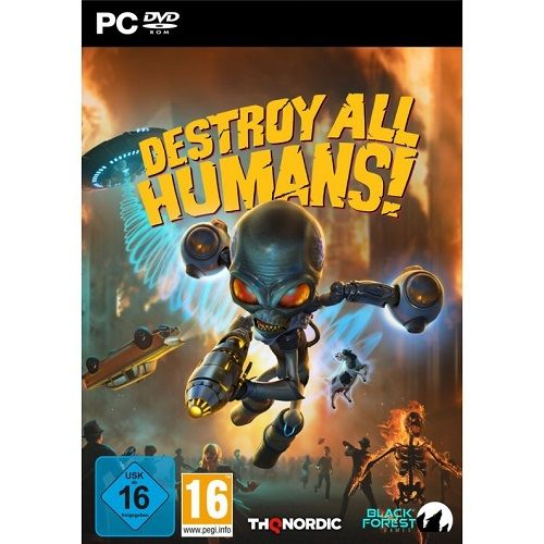Destroy All Humans! PC Game