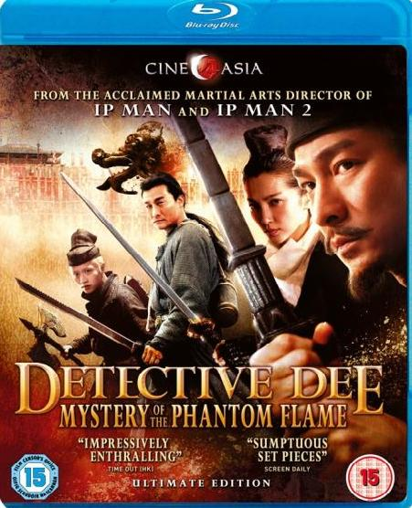 Detective Dee: Mystery Of The Phantom Flame (Blu-ray)