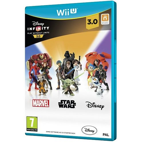 Disney Infinity 3.0 Software Wii U Game