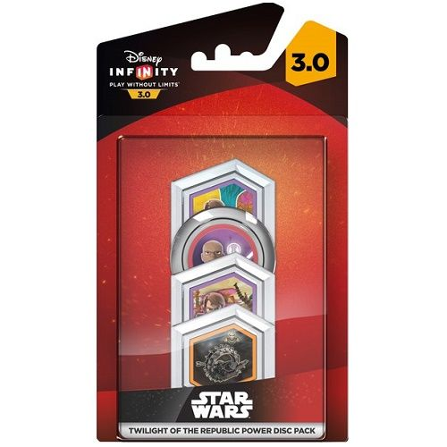 Disney Infinity 3.0 Star Wars Twilight of the Republic Power Disc Pack