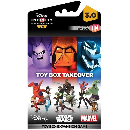 Disney Infinity 3.0 Toy Box Takeover | Gamereload