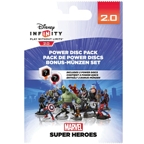 Disney Infinity Marvel 2.0 Power Disc Pack