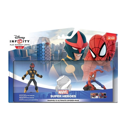 Disney Infinity Marvel 2.0 SpiderMan Pack
