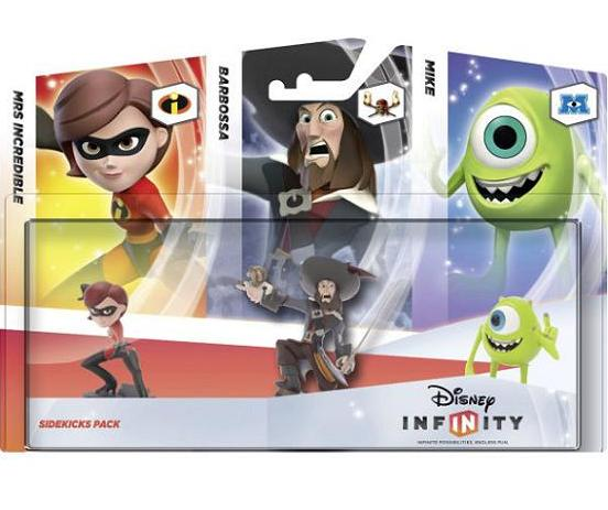 Disney Infinity: Sidekicks Triple Pack