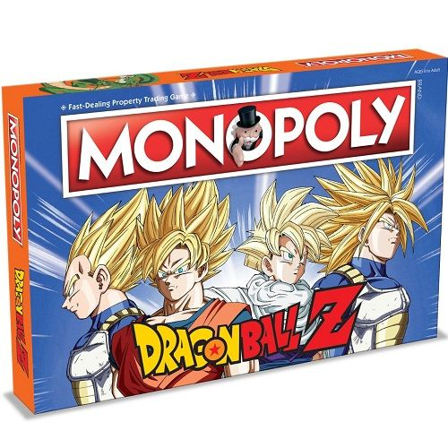 Dragon Ball Z Edition Monopoly