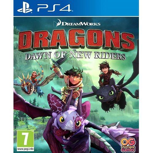 Dragons Dawn Of New Riders PS4 Game