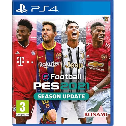 eFootball PES 2021 Season Update PS4 Game