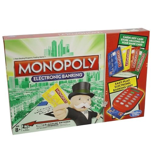 Electronic Banking Edition Monopoly Board Game