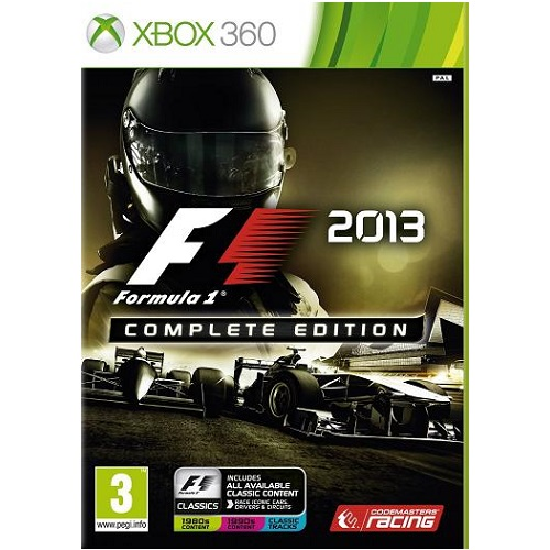 F1 2013 Complete Edition Xbox 360 Game