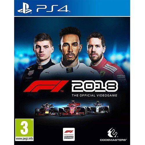 F1 2018 Standard Edition PS4 Game
