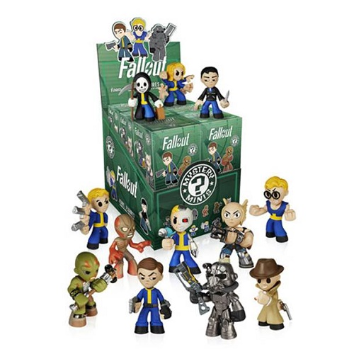 Fallout Mystery Minis Collection