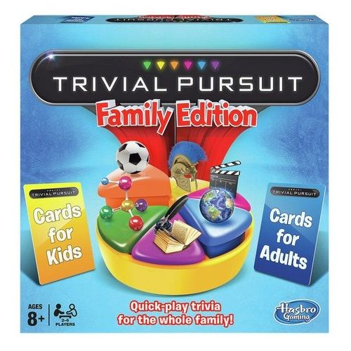Family Edition Trivial Pursuit