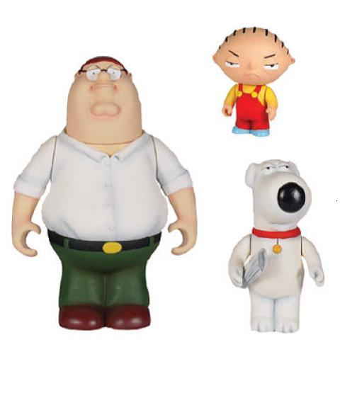 Family Guy Trio Reissue (1 Random Figure) - Figures | Gamereload.co.uk