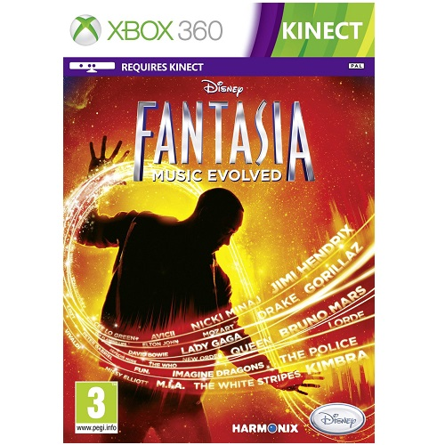 Fantasia Music Evolved Xbox 360 Game