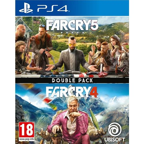 Far Cry 5 & Far Cry 4 Double Pack PS4 Game