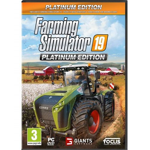 Farming Simulator 19 Platinum Edition [NOT STEAM] PC Game