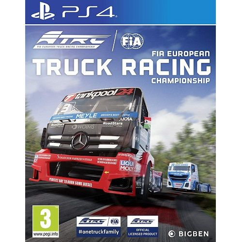 FIA European Truck Racing Championship PS4 Game