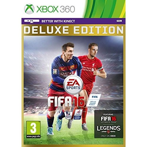 FIFA 16 Deluxe Edition Xbox 360 Game