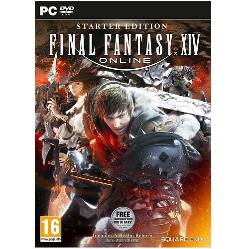 Final Fantasy XIV Online Starter Edition PC Game