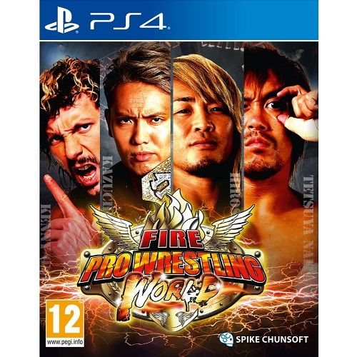 FIRE Pro Wrestling World (#) PS4 Game