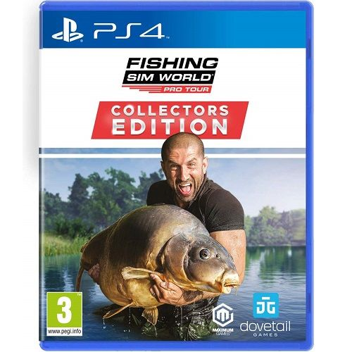 Fishing Sim World Pro Tour COLLECTORS EDITION PS4 Game