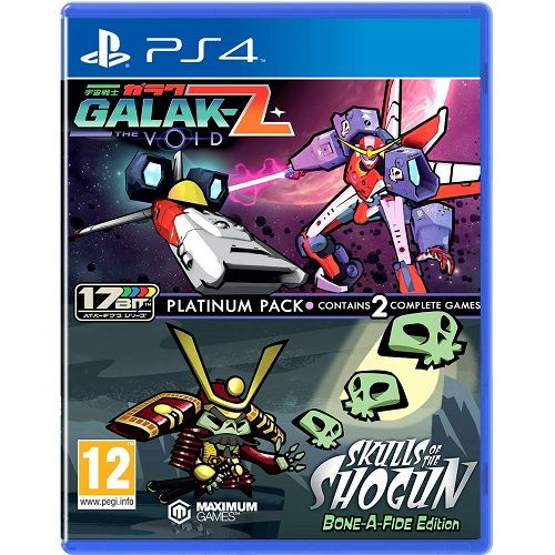 Galak-Z The Void & Skulls of the Shogun Bonafide Edition PS4 Game
