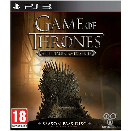 Game of Thrones A Telltale Games Series Season Pass Disc PS3 Game