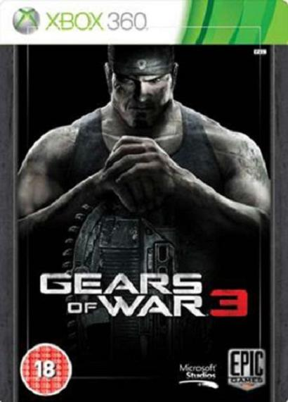 Gears of War 3 Steelbook Edition Xbox 360 Game