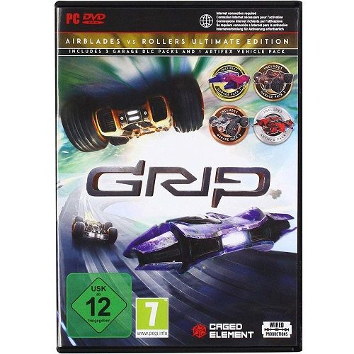 GRIP Combat Racing Rollers vs Airblades Ultimate Edition PC Game