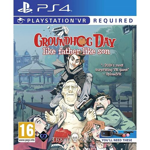 Groundhog Day Like Father Like Son [PSVR Required] PS4 Game