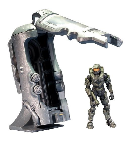 Halo 4: Deluxe Frozen Master Chief - Figures