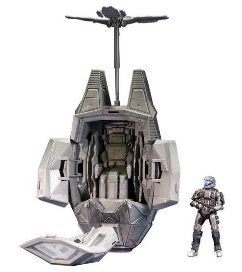 Halo 4 Series 1: Deluxe Vehicle ODST Drop Pod - Figures