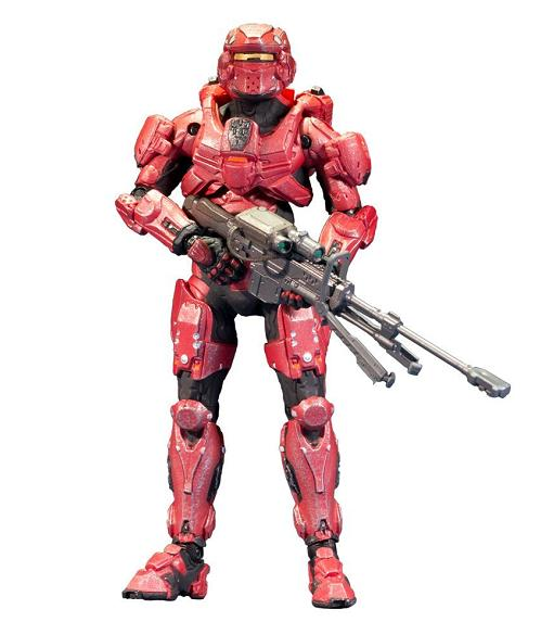 Halo 4 Series 1: Spartan Warrior - Figures