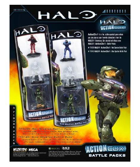 Halo Action Clix Red - Figures