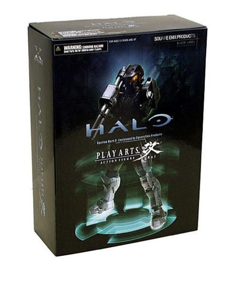 Halo Combat Evolved Action Figure Spartan Mark V (Black) - Figures