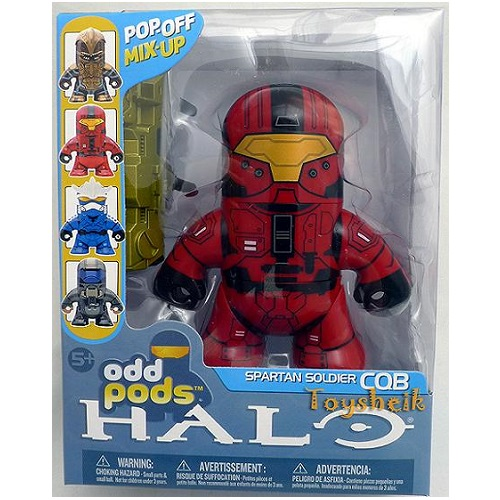 Halo Odd Pods Series 2 Spartan Soldier