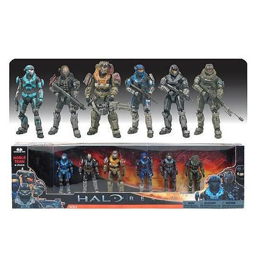 Halo Reach Noble Team 6 Box Set - Figures