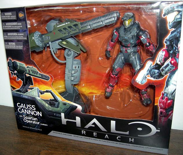Halo Reach Vehicle Weapons Accessory Set Gauss Cannon Spartan  (Single Unit) - Figures