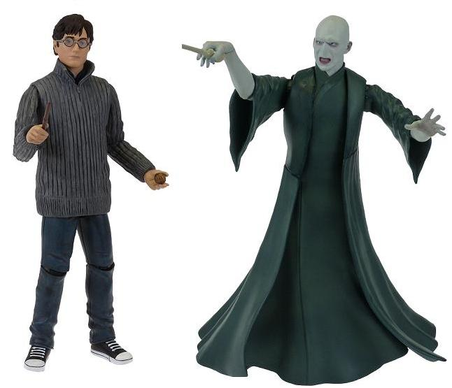 "Harry Potter 5"" Action Figure Twin Pack - Harry & Voldemort - (Single Pack)  - Figures"