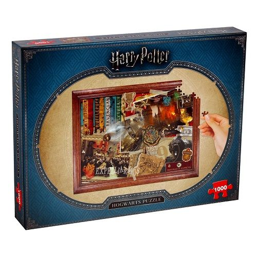 Harry Potter Hogwarts 1000 Jigsaw Puzzle