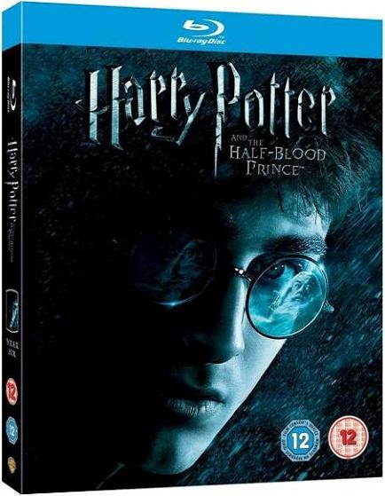 Harry Potter & The Half Blood Prince (Blu-ray)