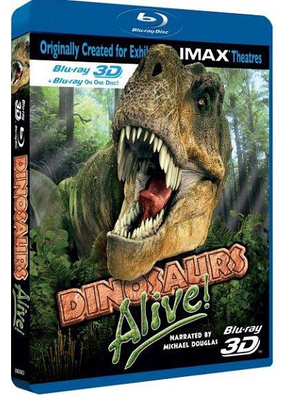IMAX Dinosaurs Alive! (2D & 3D) (Blu-ray)