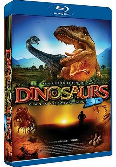 IMAX Dinosaurs: Giants Of Patagonia (2D & 3D) (Blu-ray)