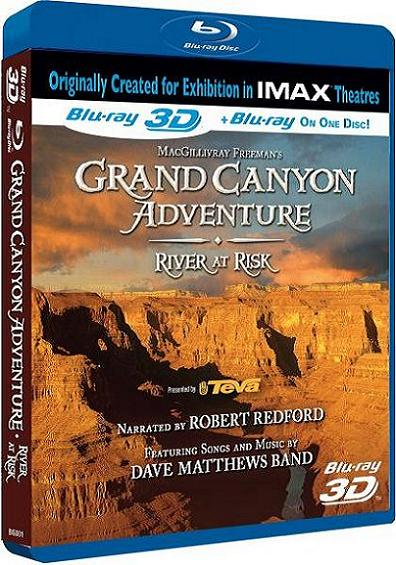 IMAX Grand Canyon Adventures: River at Risk (2D & 3D) (Blu-ray)